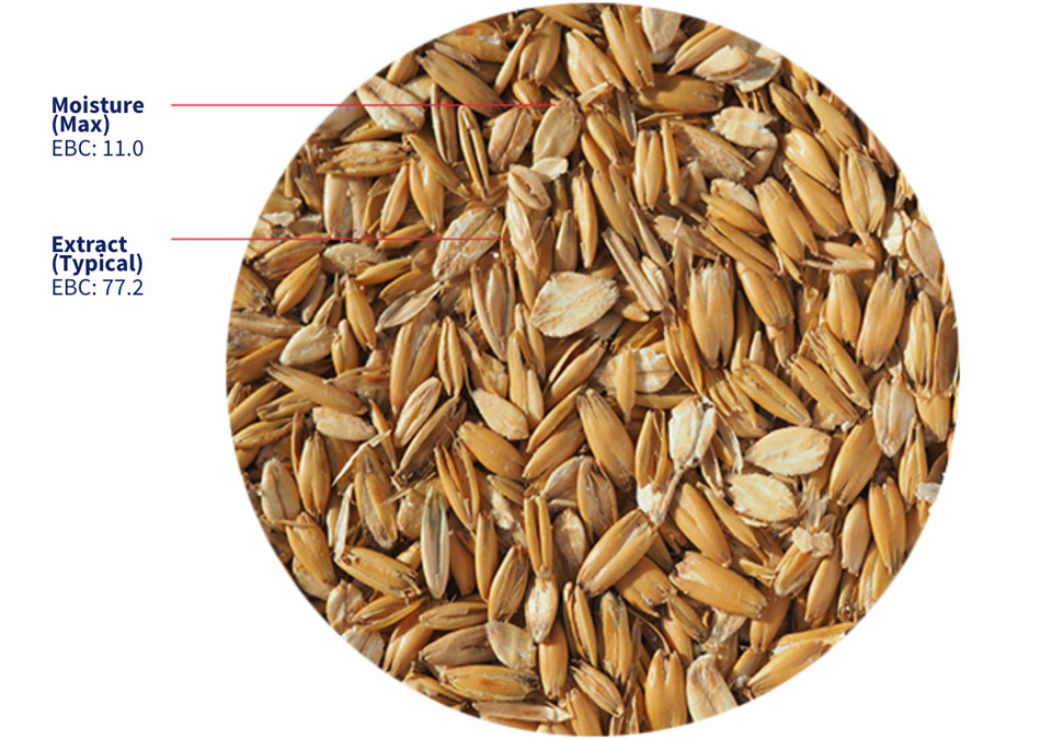 Crisp Flaked Torrefied Oats 3kg