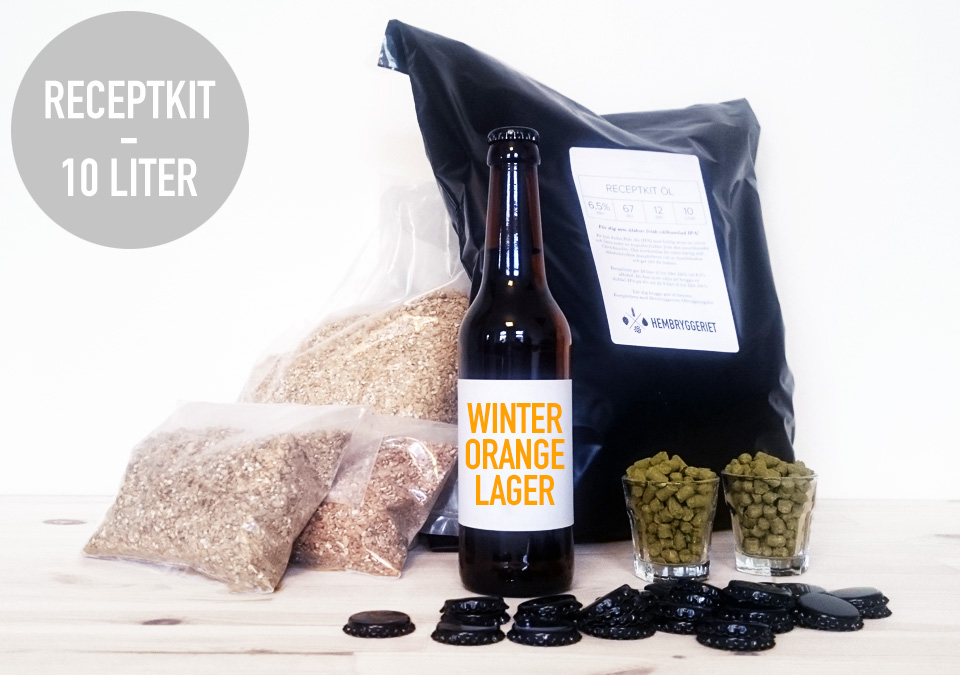 Winter Orange Lager 5% Receptkit
