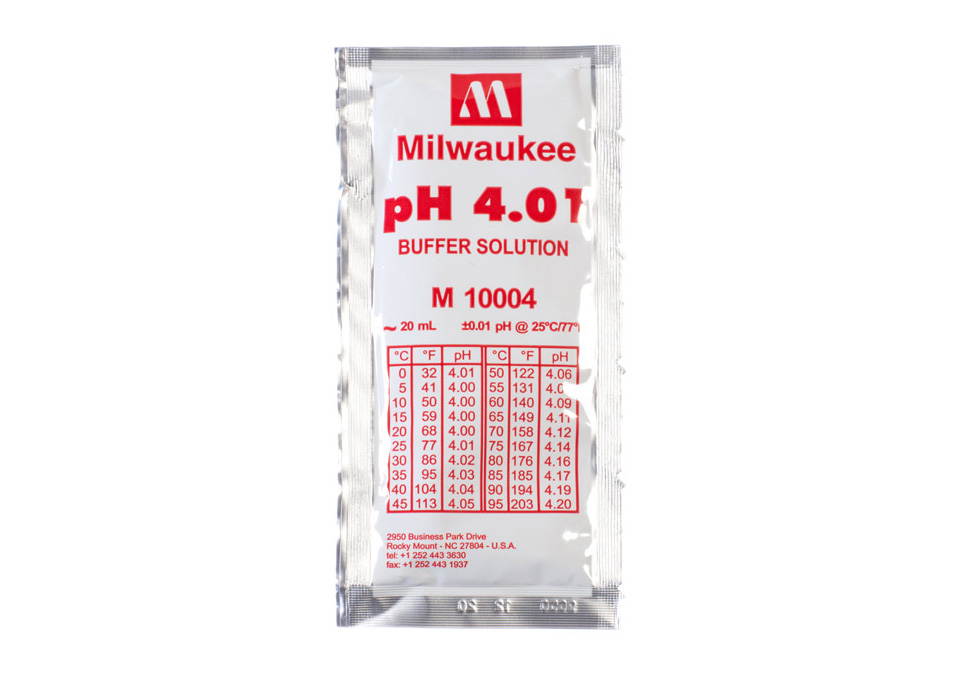 Milwaukee Buffer Solution pH4.01 20ml