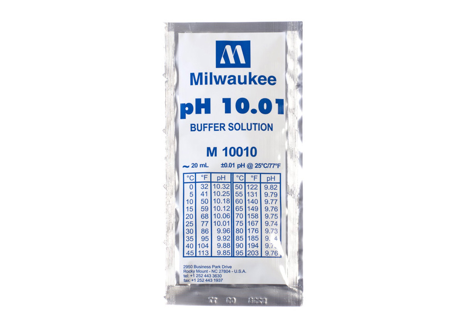 Milwaukee Buffer Solution pH10.01 20ml