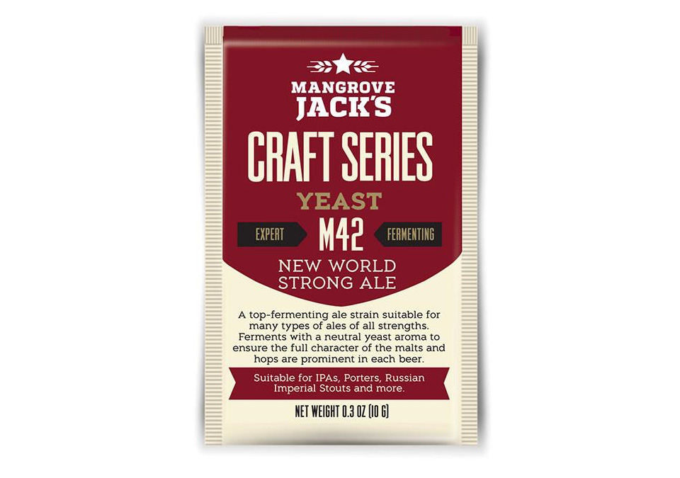 Mangrove Jack's M42 New World Strong Ale 10g