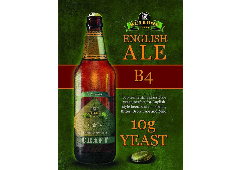 Bulldog B4 English Ale Yeast 10g