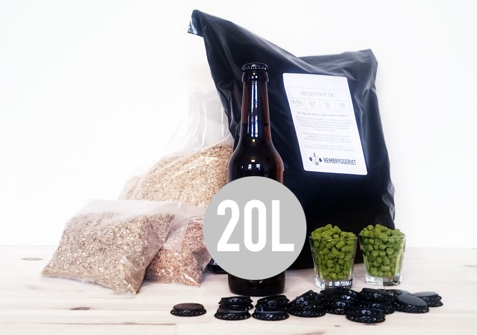West Coast IPA 6,5% Recipe Kit 20L