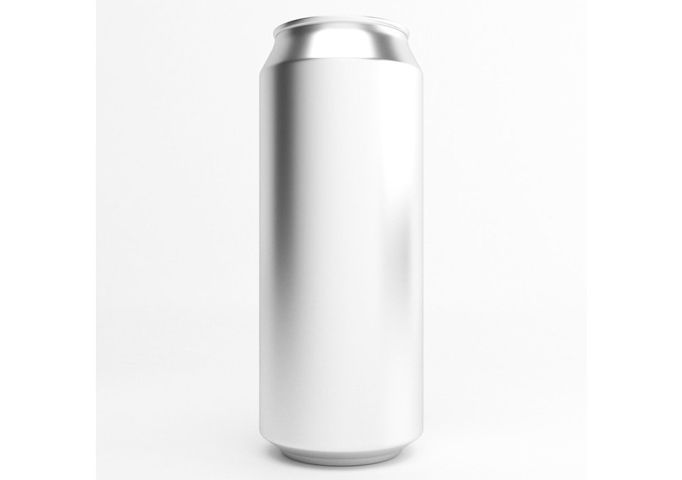 Cans 50cl Silver B64 207-pack