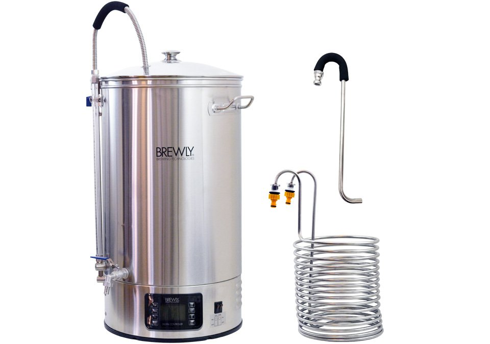 Brewly 70L Brewery with Chiller & Whirlpool