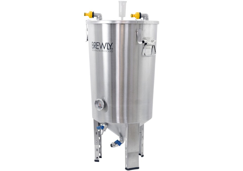 Brewly 30L Conical Cooling Fermenter with Chiller