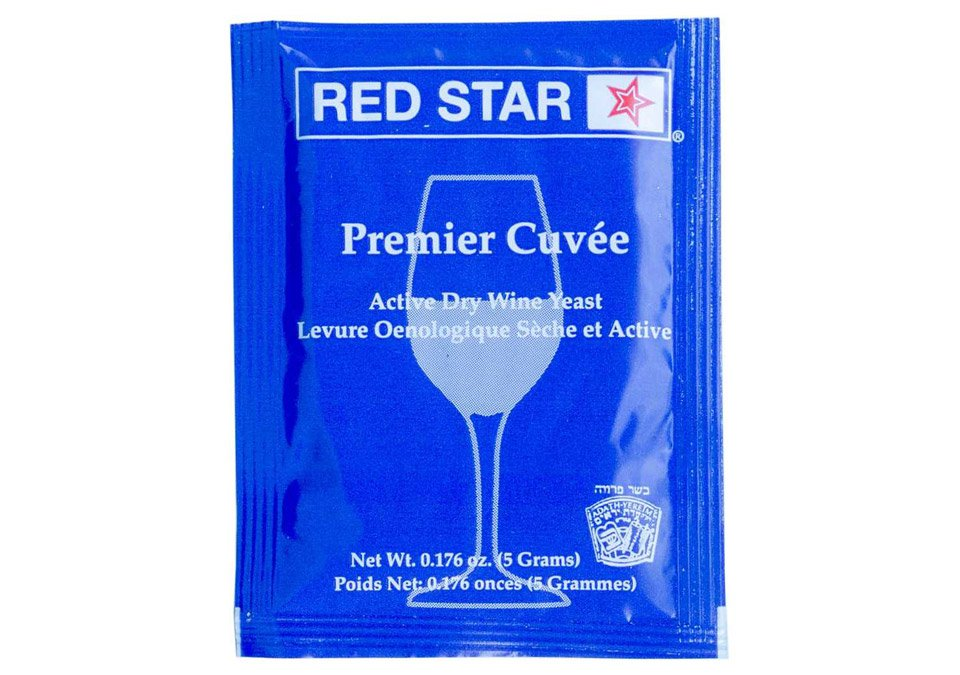 Red Star Premier Cuvée Wine Yeast 5g