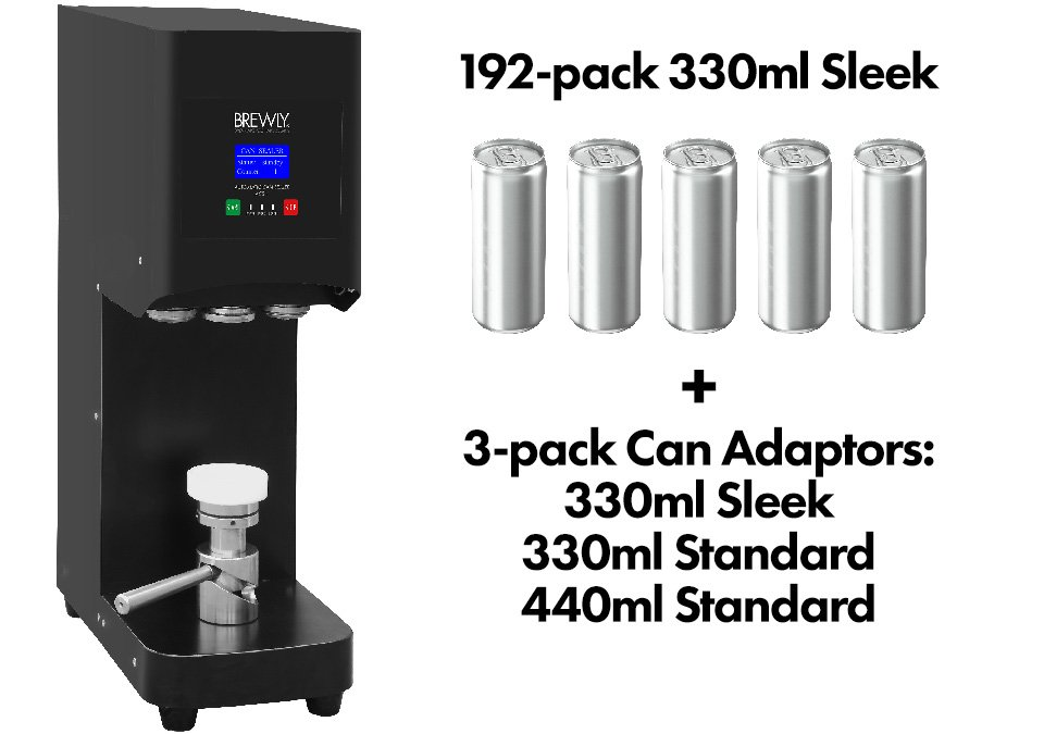Brewly ACS-1 Automatic Can Sealer - Can Kit 1