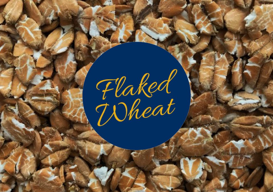 Simpsons Flaked Wheat 500g