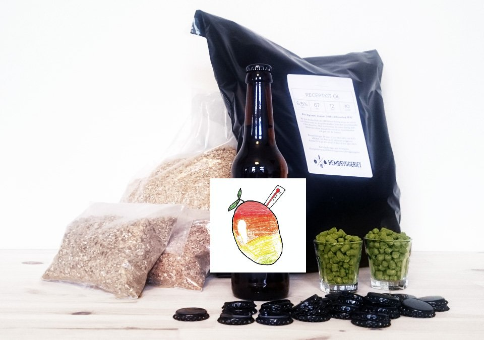 Brewski Mangofeber DIPA 8% Recipe Kit 20L