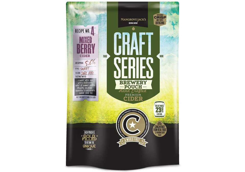 Mangrove Jacks Mixed Berry Cider 23L