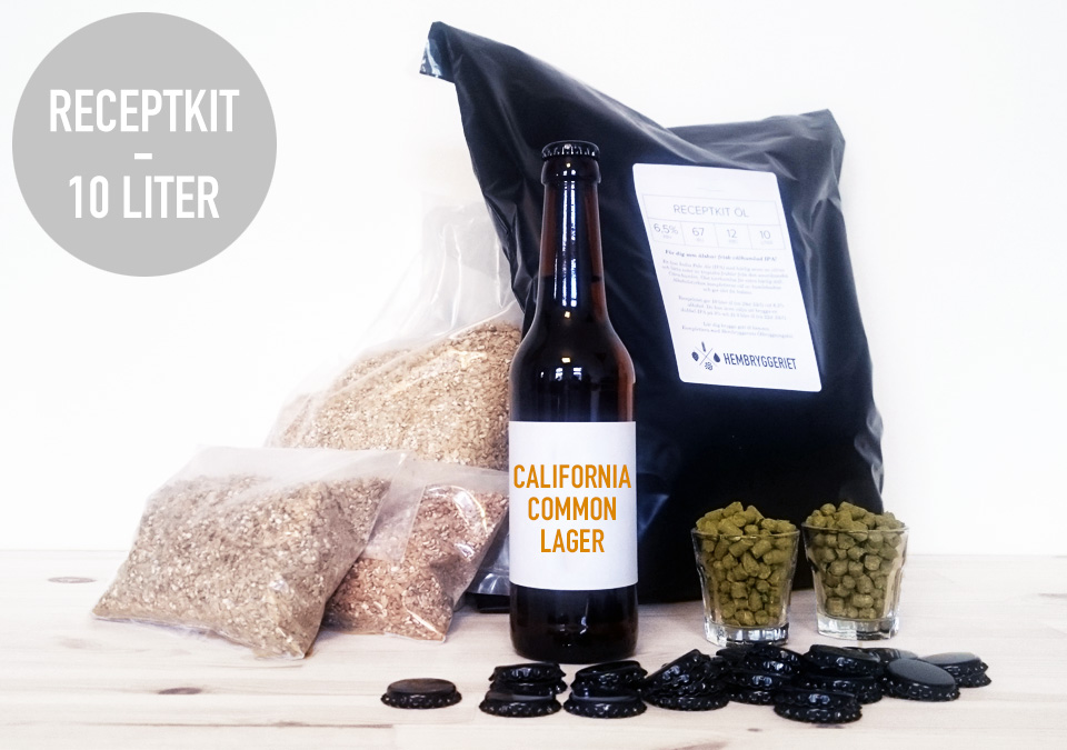 California Common Lager 5,5% Receptkit