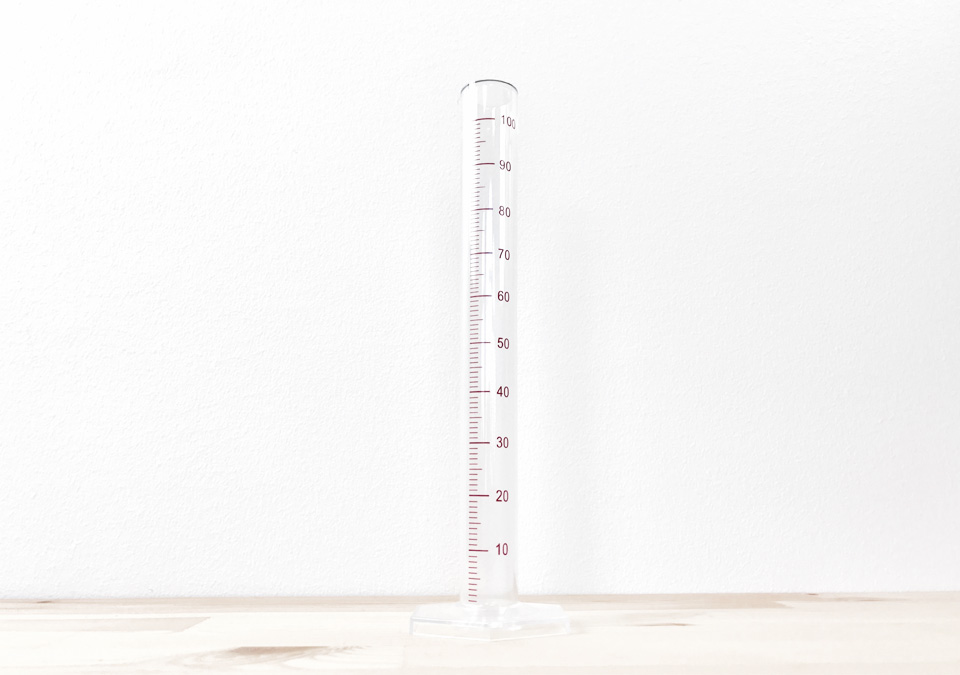 Measuring Cylinder Plastic 100ml