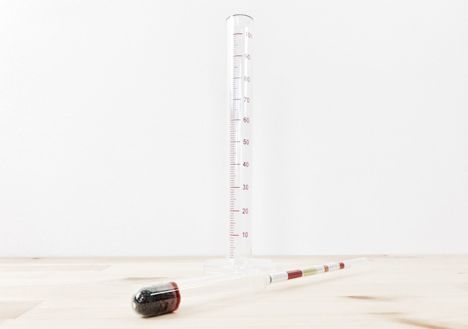 Measuring Kit - Hydrometer & Measuring Cylinder