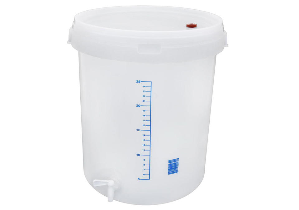 Fermenter 30L with tap and lid